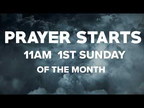 Men Of Thunder Prayer