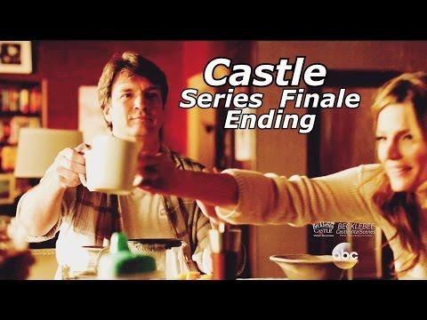 """Castle 8x22 Ending / End Scene Castle & Beckett Kids Caskett Happy Ending Series Finale """"Crossfire"""""""