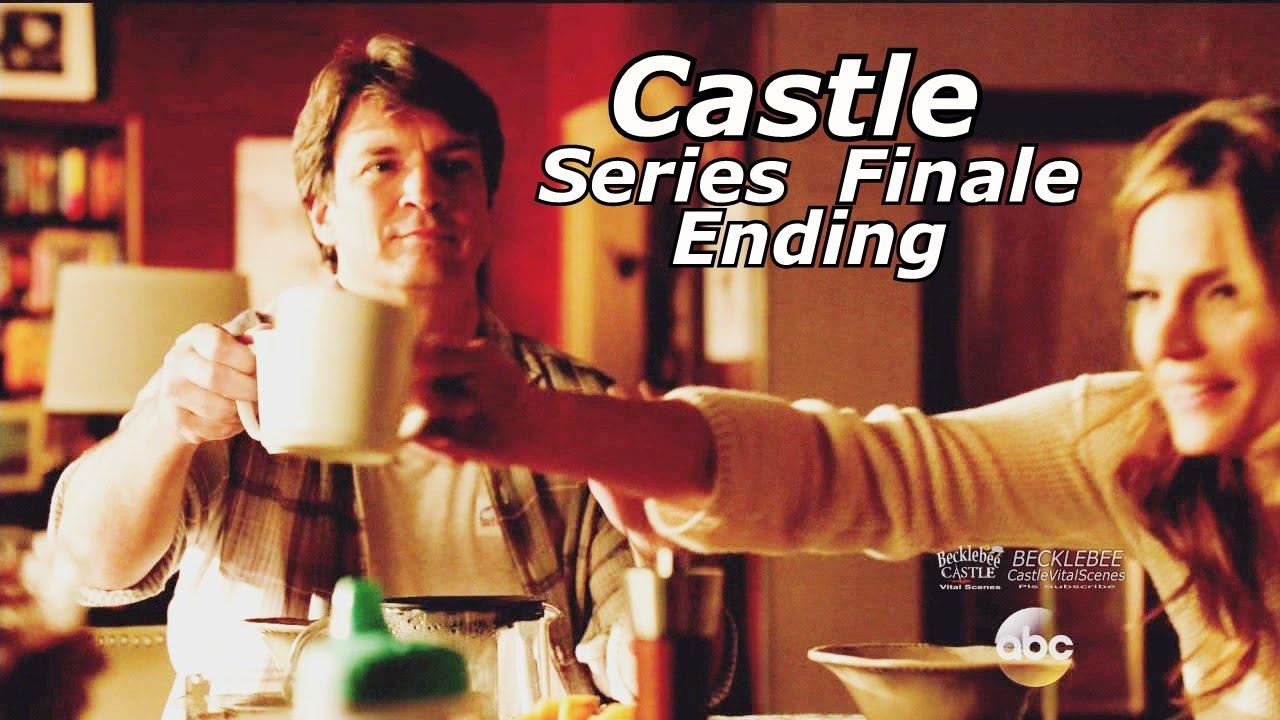 """Download Castle 8x22 Ending / End Scene Castle & Beckett Kids Caskett Happy Ending Series Finale """"Crossfire"""""""