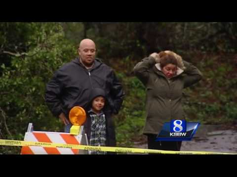 Scotts Valley residents stranded by washed out road