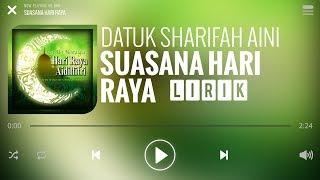 Cover images Datuk Sharifah Aini - Suasana Hari Raya [Lirik]