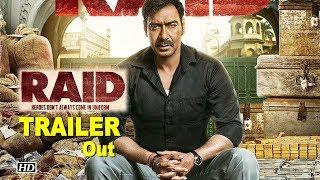 Raid TRAILER | Ajay Devgn as Income Tax officer