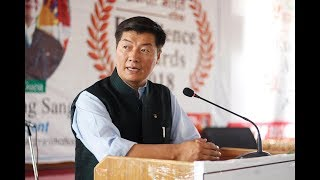 Sikyong's address at Samast Bharat Excellence Award, 2018