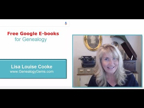 free google e books for genealogy and family history youtube