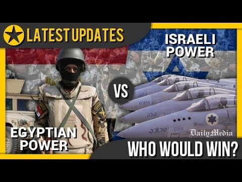 Egypt vs Israel - Military Power Comparison 2018 (Latest Updates)