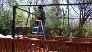 Assembling A New Gazebo