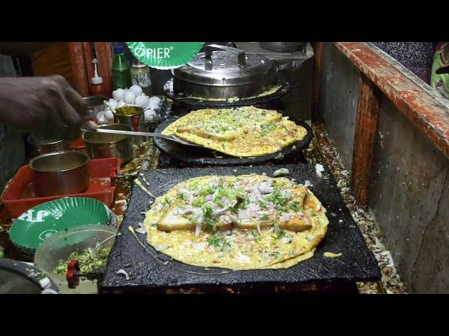 Street Food | Bread Omelet | VijayaWada Street Food | Bread Omelet Super Tasty
