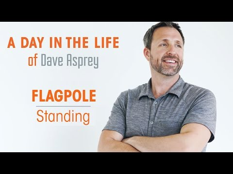 Flag Pole Standing - Day in the Life of Dave Apsrey