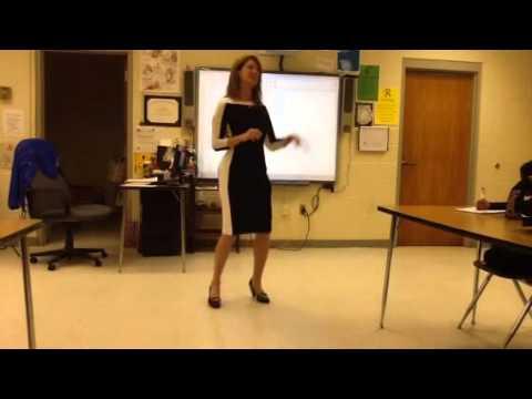 Elizabeth Gardner visits CMS AVID