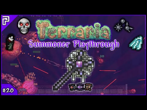 Mechanical Mayhem & Eclipse! | Let's Play Terraria 1.3.1 | Summoner Playthrough [#20]