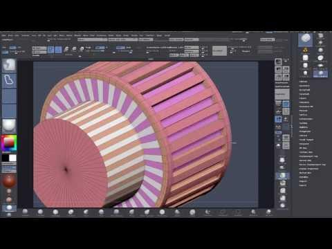 Zmodeler - Zbrush - Basic 'Binoculars' Modeling Tutorial