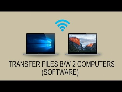 Share Files Between Two Computers Using WiFi (software)