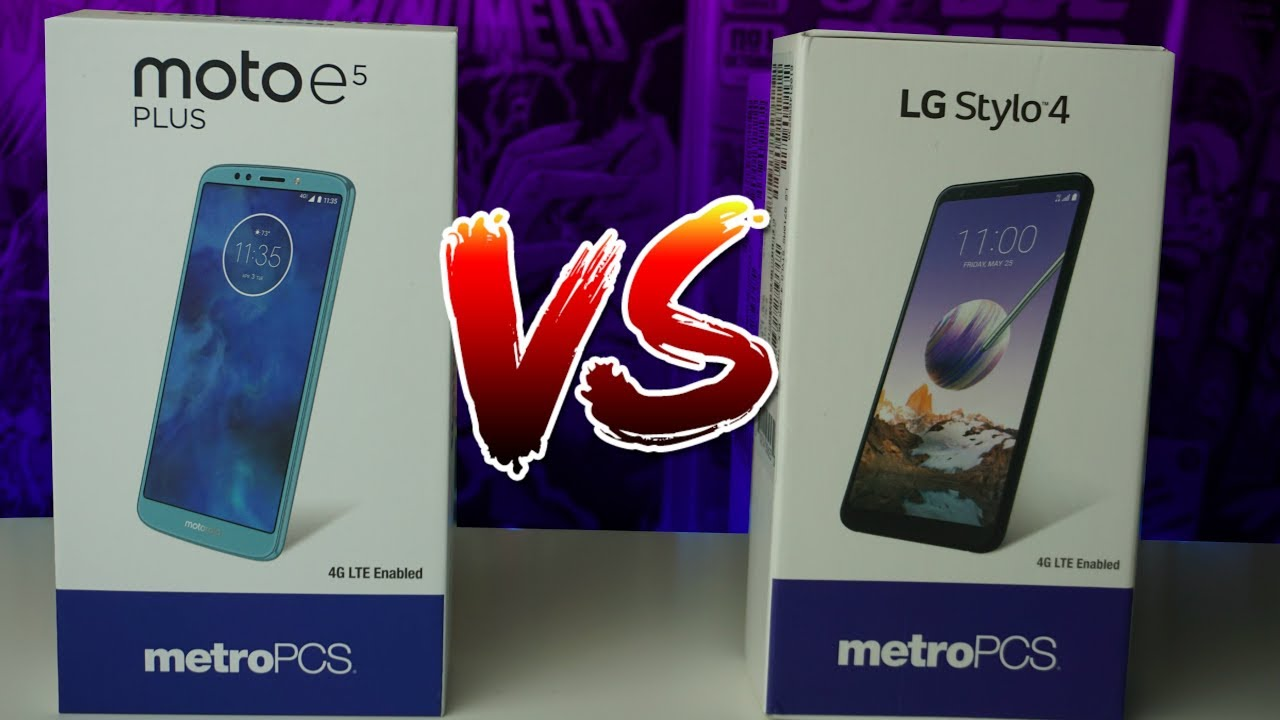 LG Stylo 4 vs Moto E5 Plus | Who Will Win?