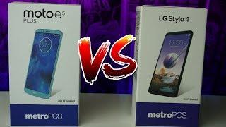 LG Stylo 4 vs Moto E5 Plus  | Who Will Win?