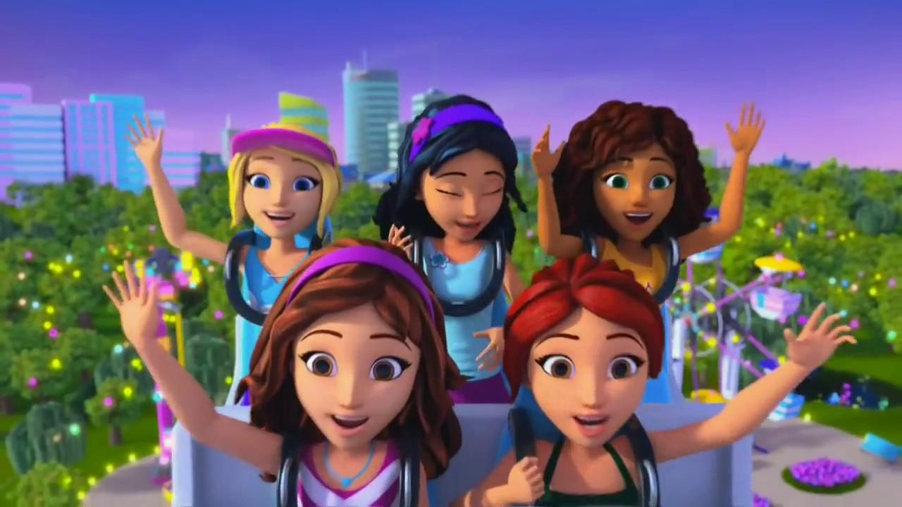 樂高 LEGO Friends 小短片 遊樂園 電視廣告 玩具 玩具反斗城 Toys ToysRus 影片 ...