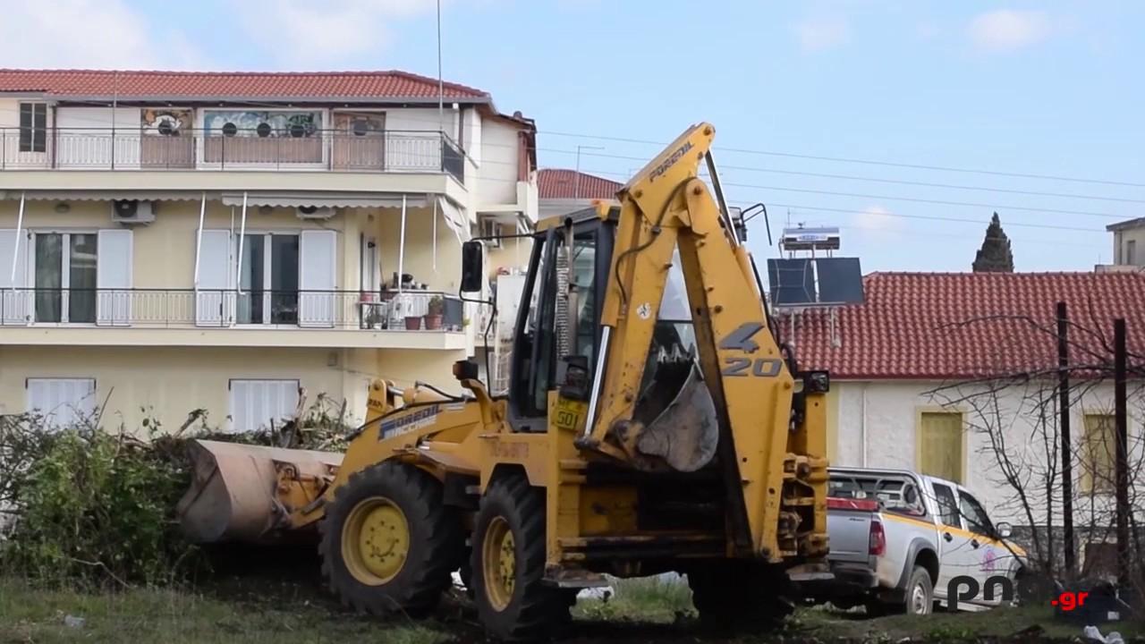 Ξεκίνησαν εργασίες  καθαρισμού στην Βίλα Τουρκοβασίλη στην Τρίπολη