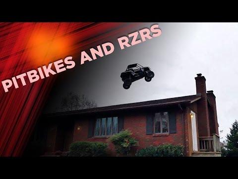 Pitbikes and RZRs at Pastranaland | Nitro Mechanics