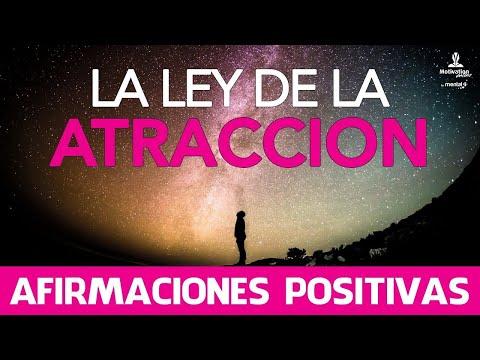 El Poder De La Ley De La Atraccion Con Afirmaciones Positivas   Motivacion Online