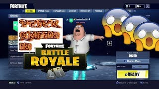 HOW TO UNLOCK PETER GRIFFIN SKIN IN FORTNITE!!!!!!!!!!!!!!