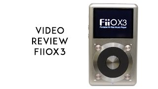 FiiO X3 2nd Gen Portable Music Player Video Review