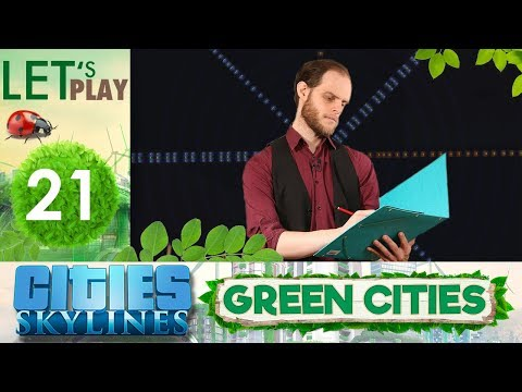 Ville Circulaire - #21 Cities Skylines : Green Cities