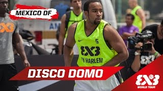 "Dominique ""Disco Domo"" Jones Spins and Hits a Circus Shot - Mexico - 2015 FIBA 3x3 World Tour"