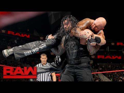 Roman Reigns vs. Luke Gallows & Karl Anderson -...