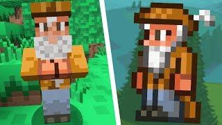 so I turned Minecraft into Terraria...