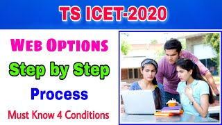 TS ICET-2020 Web Options step by step Process||ts icet 2020||Web options important points
