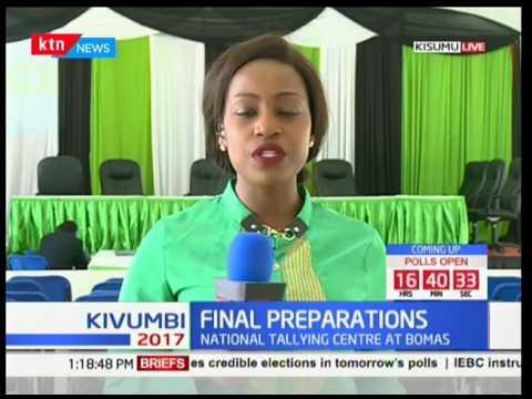 Kisumu County: IEBC's final preparations ahead of the elctions