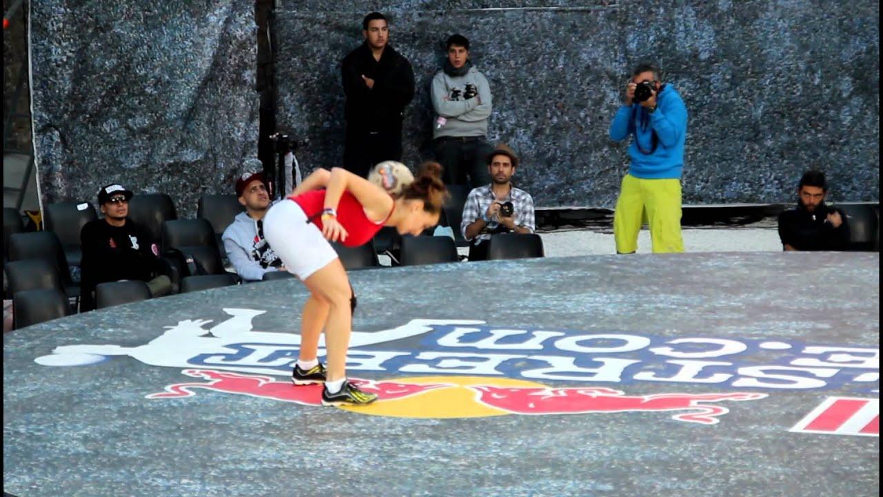Red Bull Street Style 2012 World Final Lecce Battle Laura Biondo (Italy) vs  Lisa Zimouche (Algeria)