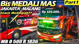 TOURING RAMADHAN DIMULAI! Buka Puasa Di Bis, Naik Bis Medali Mas Jakarta-Malang