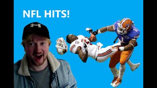 Rugby Fan reacts to  NFL Brutal HITS for first time.
