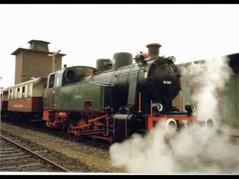 Light Oil Fired Steam Locomotive in Krefeld, Germany