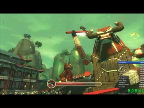Kung Fu Panda Any% NG+ Speedrun In 1:07:57
