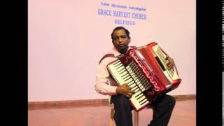 Rev. Dr. G. Allan Roy playing