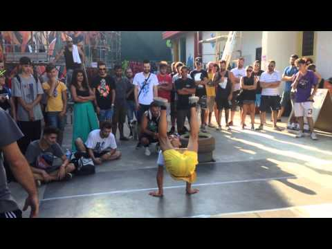 Break dance San Nicandro garganico VS Apricena