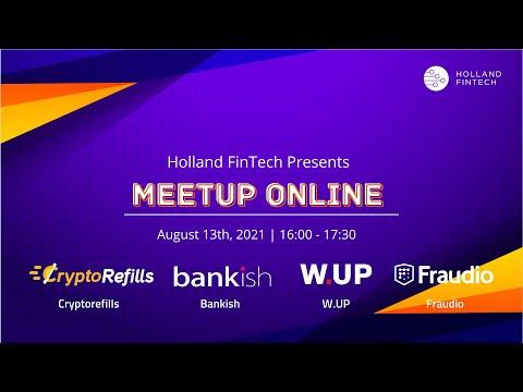 Holland FinTech Online Meetup August
