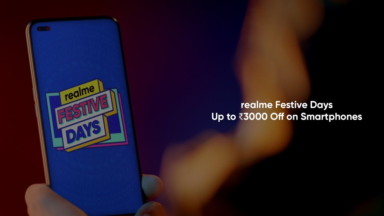 realme Festive Days | Up to ₹3000 Off on Smartphones