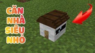 CÁCH XÂY CĂN NHÀ SIÊU NHỎ ĐẦY ĐỦ TIỆN NGHI CHỈ TRONG 1 GIÂY TRONG MCPE | Minecraft PE 1.1.3