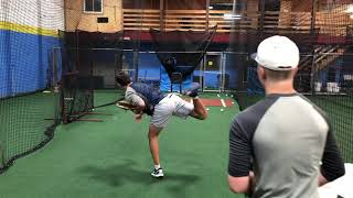 Flat Ground Bullpen Example | Purdue Baseball Recruit | Best Pitching Drills