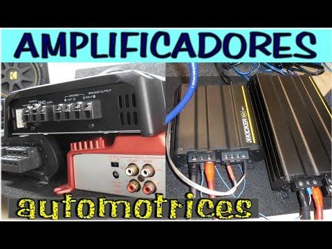 Introduccion basica a los amplificadores para auto (precios, tipos, potencia y mas.)