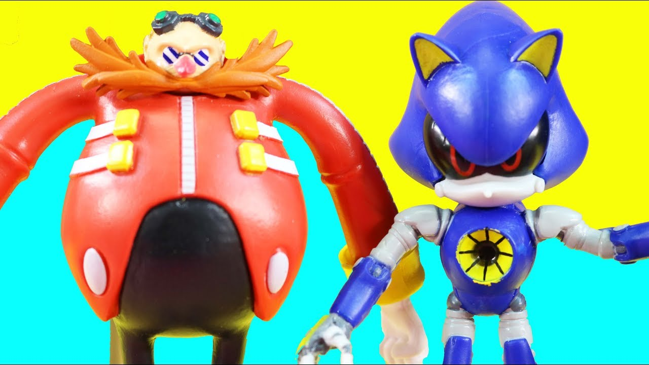 Doctor Eggman Makes Metal Sonic Robot Toy Sonic The Hedgehog Adventure Youtube