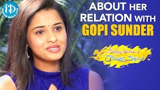 Actress Arthana About Her Relation With Gopi Sunder | Seethamma Andalu Ramayya Sitralu