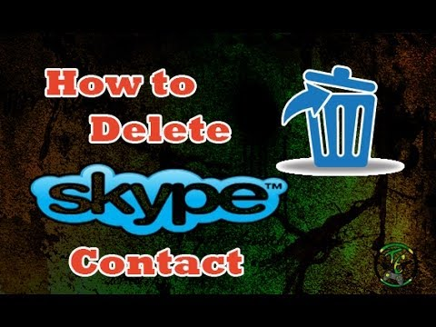 How To Delete A Skype Contact On Windows 8/8.1