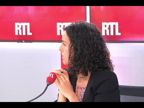 Manon Aubry invitée de RTL du 23 mai 2019