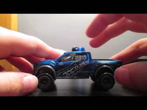 Hot Wheels 2016 review '17 Ford F-150 Raptor