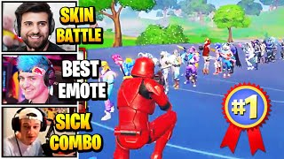 Streamers Host BIGGEST Sĸin & Emote Contest | Fortnite Daily Funny Moments Ep.490