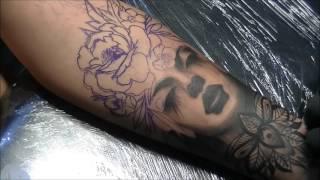 Forsaken - Tattoo time lapse