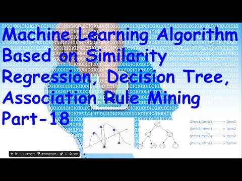 List of Machine Learning Algorithm(Regression, Decision Tree, Association Rule Mining)  Part 18